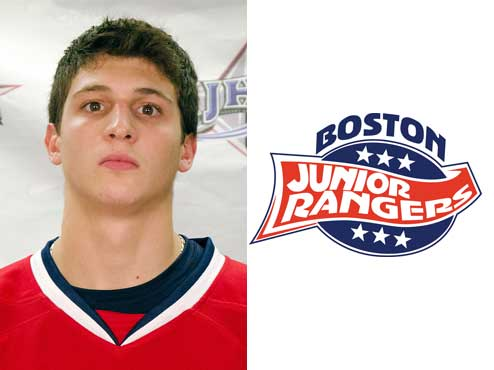 Jr. Rangers Taddeo off to Worcester State